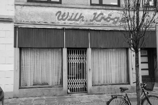 a shop which has been vacant for more than ten years